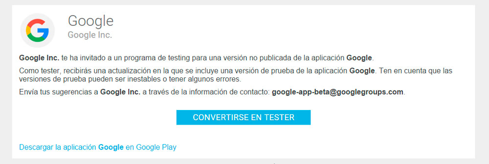 google-tester-beta-android