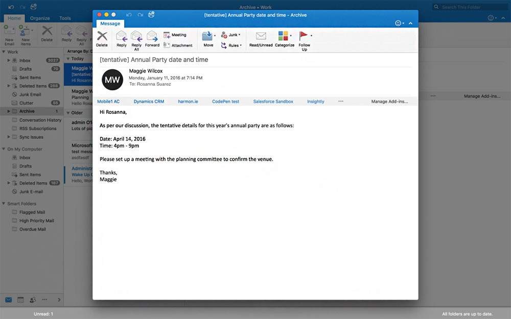 Outlook is updated to Mac, Android and iOS