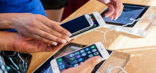 Comparing broken smartphone with the new iPhone 6 and iphone 6 p