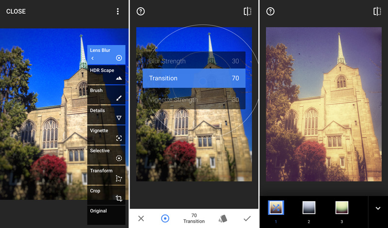Android photo editor