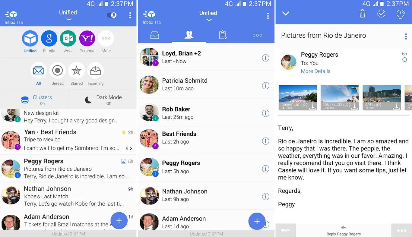 alternatives to Gmail app