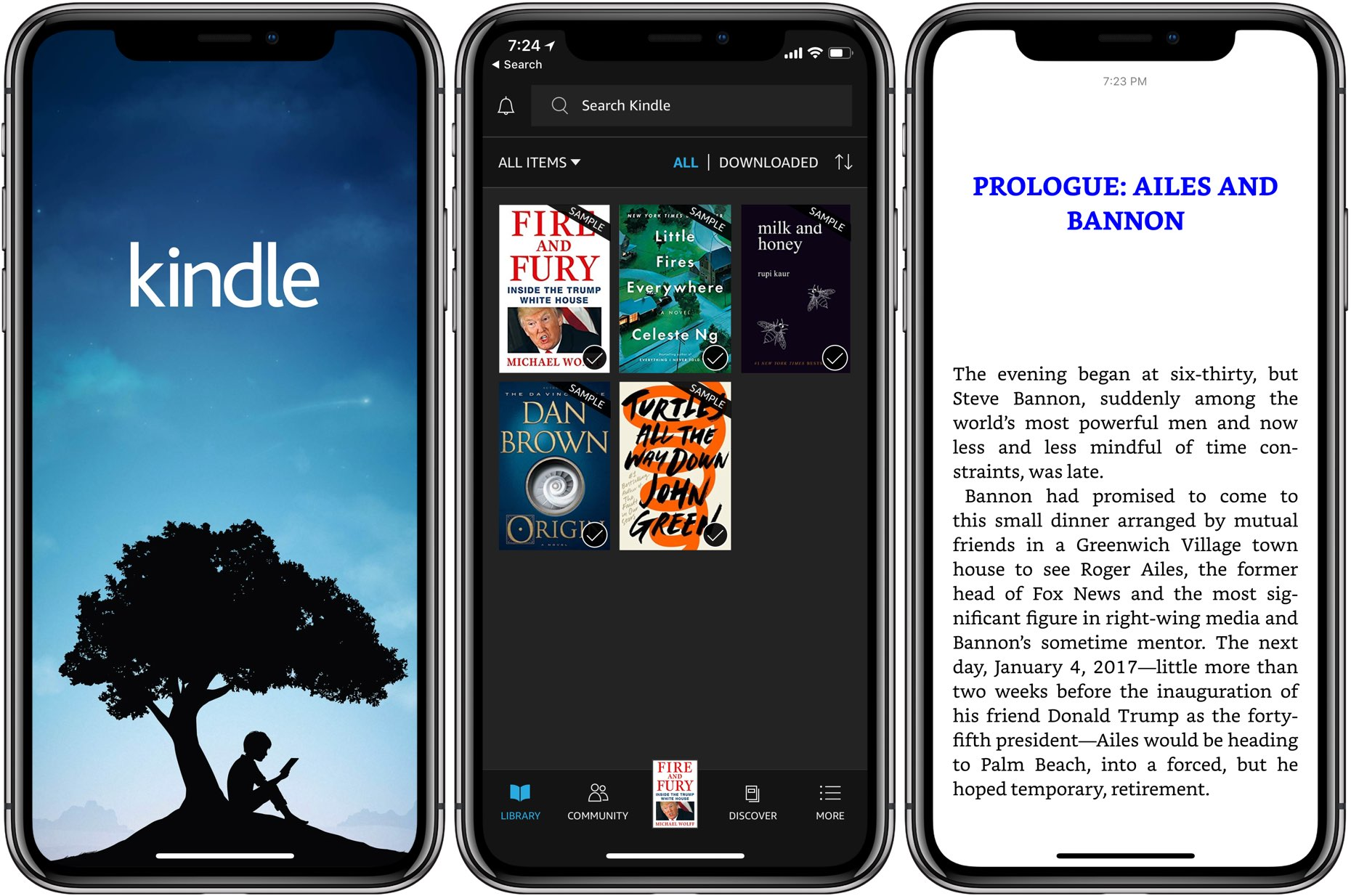 applications to read books