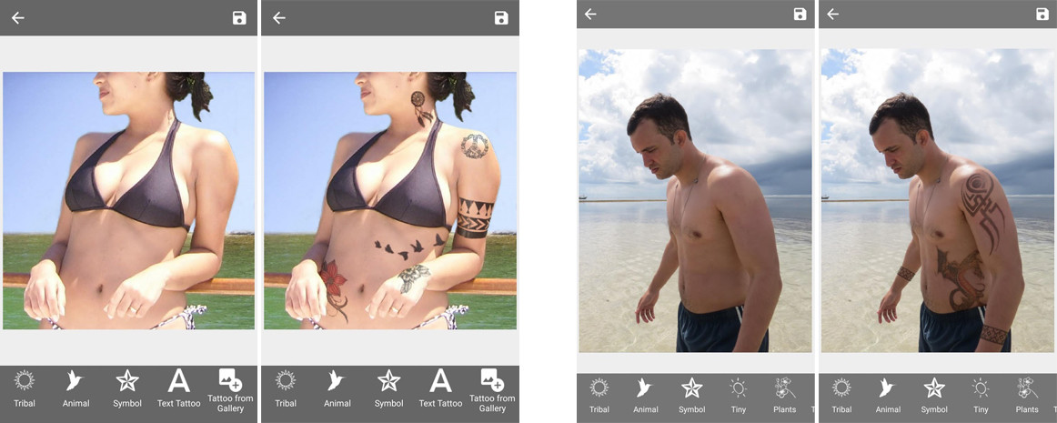 Tattoo android apps