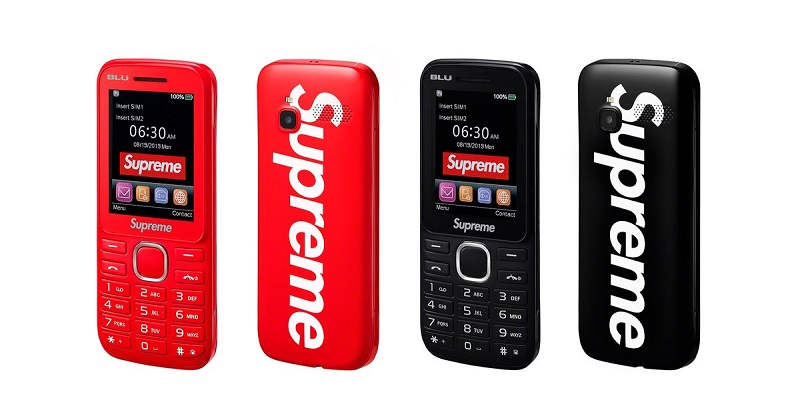 supreme burner phone